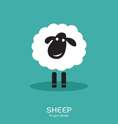 Image of a sheep design vector image