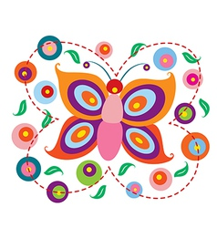 Lovely Butterfly vector image vector image