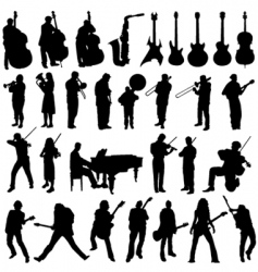 musician vector image vector image