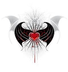 vampire wings vector image