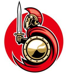 Roman army vector