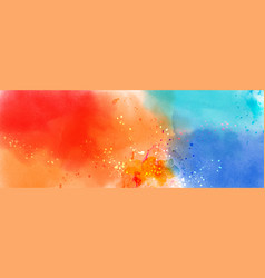 Abstract surface multicolored splatter vector
