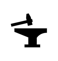 anvil icon vector image