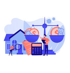 Appraisal services concept vector