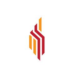 company logo concept vector image