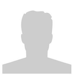 Creative of default avatar vector
