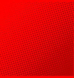 red retro comic book page background halftone vector image