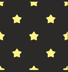 seamless pattern with gold vector image