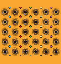 Traditional pattern seamless image vector