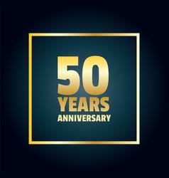 years anniversary celebration design vector image