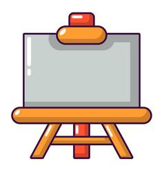 canvas icon cartoon style vector image