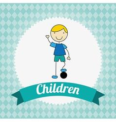Children design vector