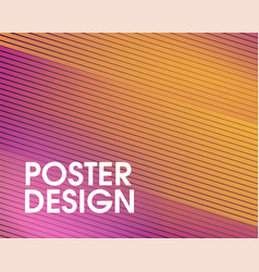 Colorful abstract modern geometrical design vector