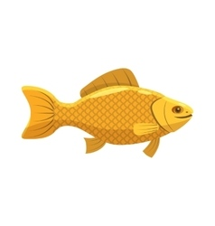 Fish snack for beer icon cartoon style vector image