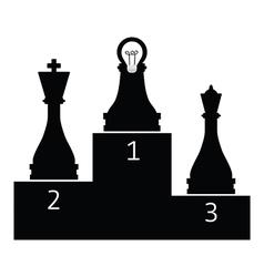 pawnwinner vector image