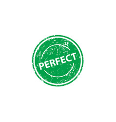 perfect stamp texture rubber cliche imprint web vector image