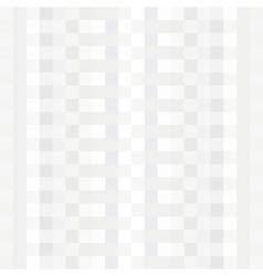 Stylish light geometric pattern vector image