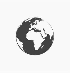 World icon on white background vector