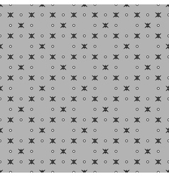 Star and polka dot geometric seamless pattern 312 vector image