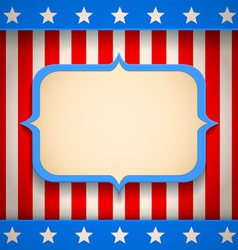 USA banner vector image