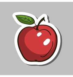 AppleSticker vector image