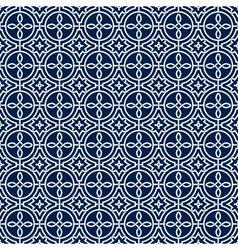 Arabic seamless ornament Abstract background vector image