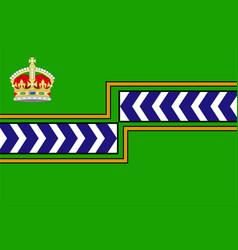 Flag regional municipality niagara canada vector
