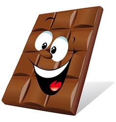 Happy chocolate vector