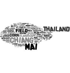Mai word cloud concept vector