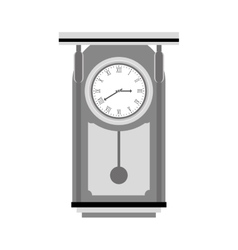 pendulum clock icon image vector image