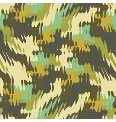 Refracted camouflage print vector