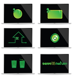 save the nature vector image