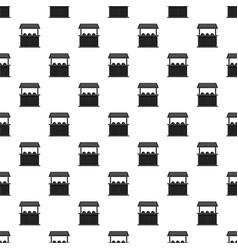 Carnival fair booth pattern vector