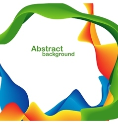 Abstract shapes and lines vector image vector image