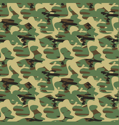 Army camouflage pattern vector