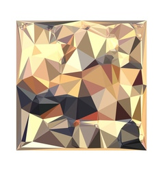 Bisque Gray Abstract Low Polygon Background vector