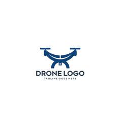 Drone logo vector