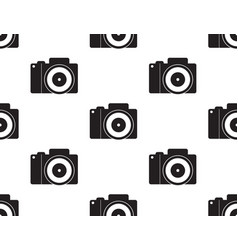 dslr camera seamless2 vector image