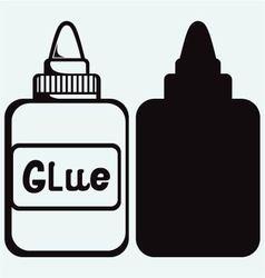Glue icon set vector