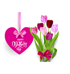 holiday mothers day isolated vector image