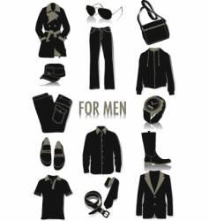 Men's fashion vector