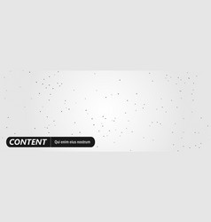 technology horizontal background with triangles vector image