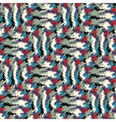 wavy print vector image vector image