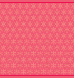 merry christmas snowflake design vector image