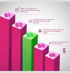Business diagram vector
