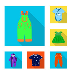fashion and garment icon vector image