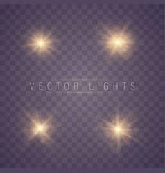 light effect glow vector image