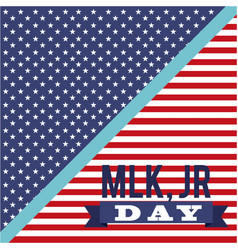 Mlk jr day patriotic celebration freedom symbol vector