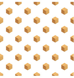 Received box pattern seamless vector
