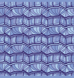 Seamless pattern repeating geometric vector